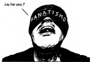 El_fanático Ceguera moral